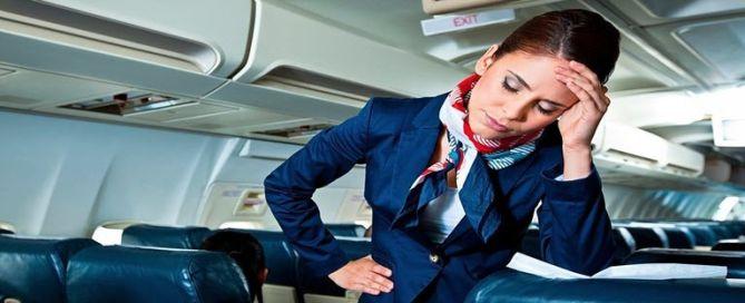 Gérer les conflits en tant qu'hôtesse de l'air
